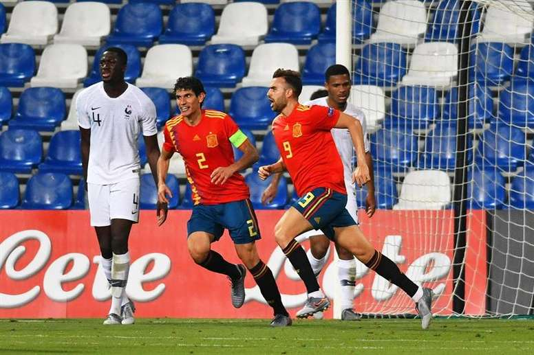 España Sub 21 vuelve a los entrenamientos. EFE