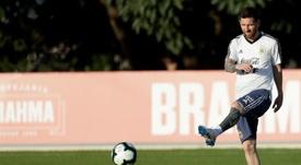 Messi voltará à Seleção Argentina em novembro. EFE/Fernando Bizerra Jr