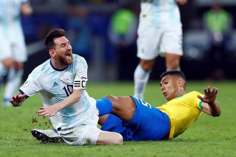 Piropos a Messi de un campeón del mundo. EFE/Yuri Edmundo
