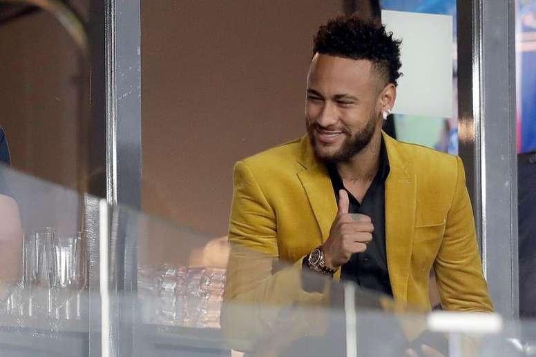 Neymar prendra la direction de Barcelone cette semaine. AFP