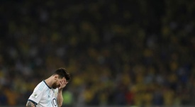 Tite confessa que Messi tira seu sono. EFE/Fernando Bizerra