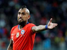 Arturo Vidal is not wanted by Inter Milan. EFE