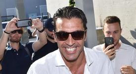 Buffon passou pelos pertinentes exames médicos. EFE