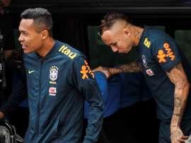 La lista dei convocati del Brasile. EFE