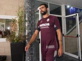 Albiol asegura que fue difícil marcharse del Villarreal. EFE