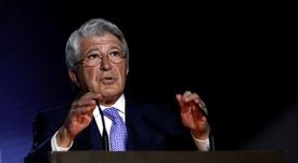 Enrique Cerezo dément que l'accord avec le Barça soit pour Griezmann. EFE