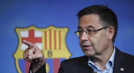 Presidente do Barcelona recebeu negativas ao tentar a contratação de De Ligt. EFE/Alejandro Garcia.
