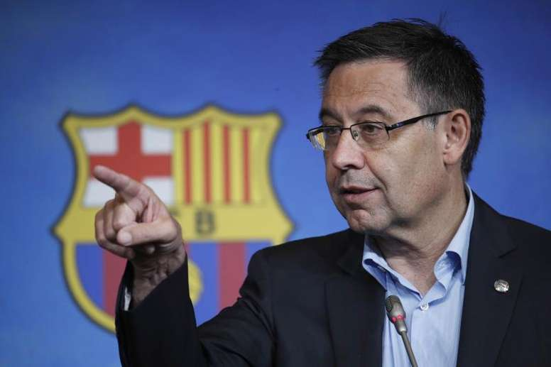 Bartomeu was reluctant to speak about Neymar. EFE