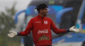 Gallese habló sobre las semifinales. EFE/Julio Cesar Guimarães