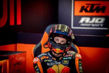 El piloto español Marc Márquez durante el Gran Premio de los Países Bajos en el circuito TT Assen (Holanda). EFE