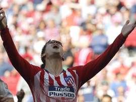 Morata souffre d'une entorse du genou. EFE