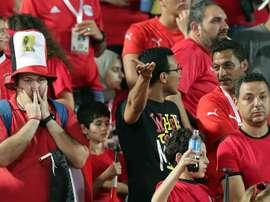 C'est au tour de l'Égypte de suspendre son championnat aussi. EFE