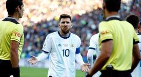 Messi estará en el inico de las Eliminatorias al Mundial. EFE