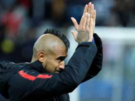 Arturo Vidal is not happy about his lack of game time at Barca. EFE