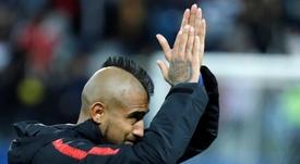 Vidal se despidió del Barcelona en redes. EFE