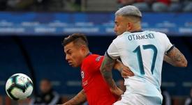 Le onze possible de l'Argentine contre le Chili. EFE