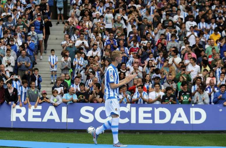 El Madrid nunca se planteó vender a Odegaard. EFE