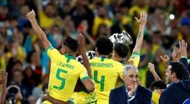 Les compos officielles du match amical entre le Brésil et la Corée du Sud. EFE