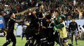 De la final de la Copa Oro a tener que elegir entre la docencia o el fútbol. EFE/David Banks