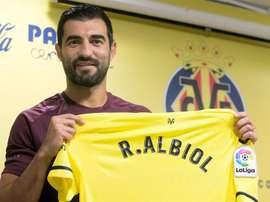 El esfuerzo del Villarreal por ficharle convenció a Albiol. EFE