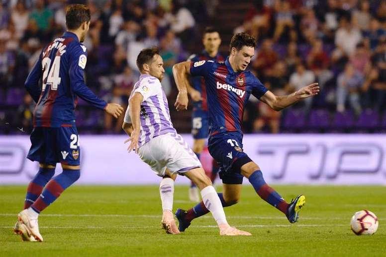 Vukcevic estaría ante el Madrid. EFE