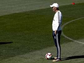Zidane de retour à Montreal. EFE/Ballesteros/Archivo