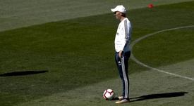 Zinedine Zidane está listo para volver a dirigir al Real Madrid. EFE