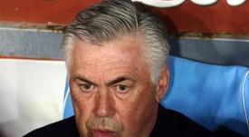 Ancelotti trató de rebajar los ánimos en el 'caso James'. EFE