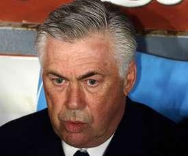 Ancelotti abordou o interesse em James Rodriguez. EFE