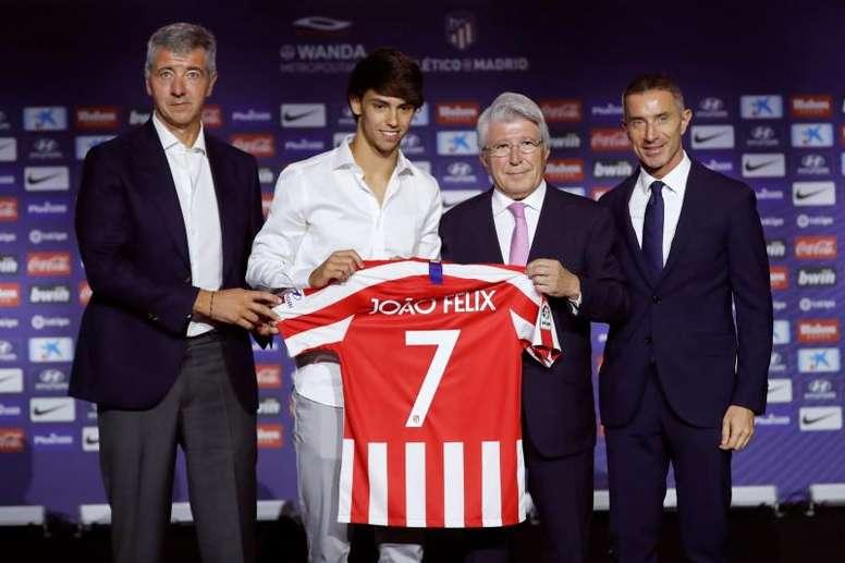 Dos equipos italianos quieren quitarle al Atlético a Andrea Berta, su director deportivo. EFE