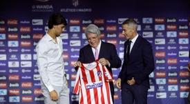 David Villa falou sobre a contratação de João Félix. EFE