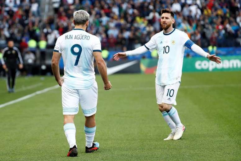 Aguero defends Messi amid Argentina criticism. AFP