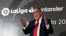 Cruce de opiniones entre Real Madrid y LaLiga por el partido en Miami. EFE