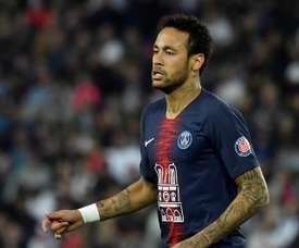 PSG recusa pacote milionário por Neymar. EFE/Archivo