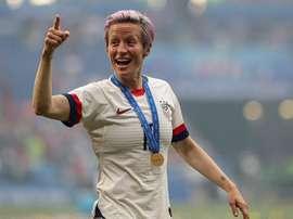 Estados Unidos levantó su cuarta Copa del Mundo. EFE/EPA