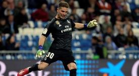 Luca Zidane ne regrette rien. EFE