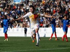 Valence veut récupérer Abel Ruiz. EFE/MORELL/Archivo