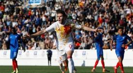 Abel Ruiz no pudo debutar con el Sporting de Braga por flecos burocráticos. EFE