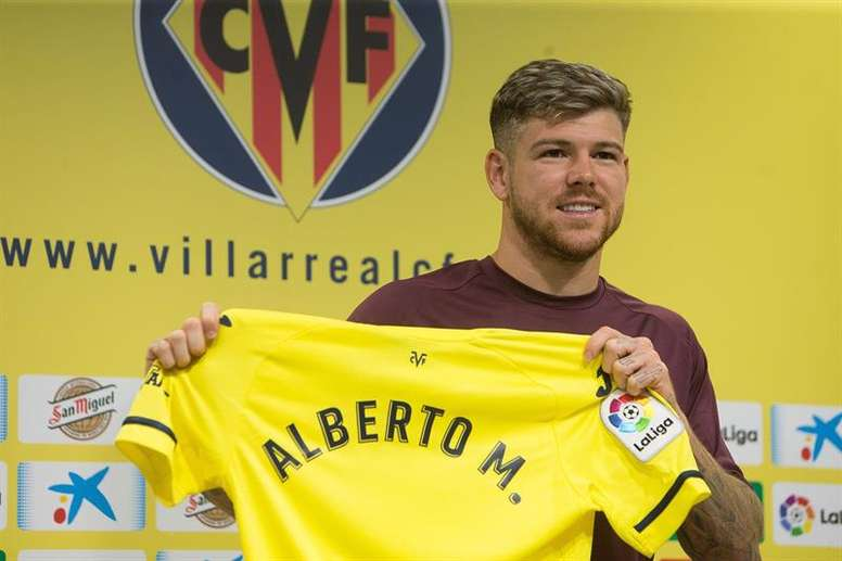 Alberto Moreno estará diez días fuera de los terrenos de juego. EFE