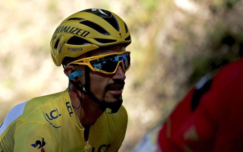 'Lo daré todo en La Planche por defender el maillot amarillo'