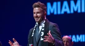David Beckham sigue con el proyecto de su Inter Miami. EFE/Giorgio Viera/Archivo