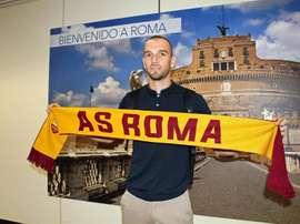 Pau López, nouveau gardien de but de la Roma. EFE