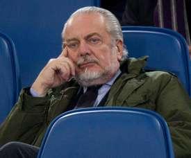 De Laurentiis falou sobre James Rodríguez e o Real Madrid. EFE