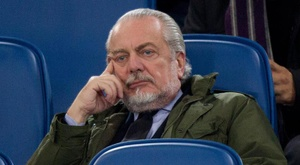 De Laurentiis would have called Ancelotti back had he been free. EFE
