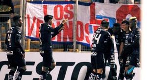 Independiente del Valle se enfrenta a Técnico Universitario. EFE