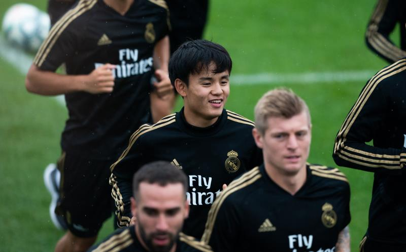 Kubo pretemporada Real Madrid 2019-20