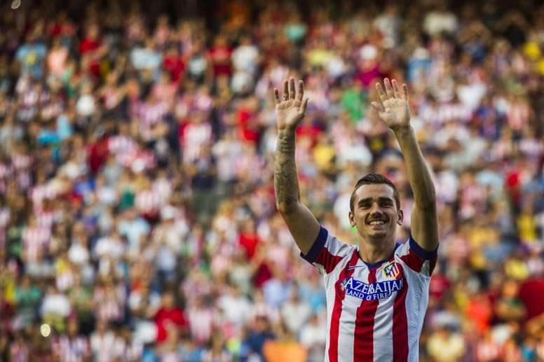 Griezmann dijo definitivamente adiós al Atlético. EFE