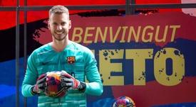 Neto est prêt pour cette nouvelle saison de Liga. EFE/Enric Fontcuberta