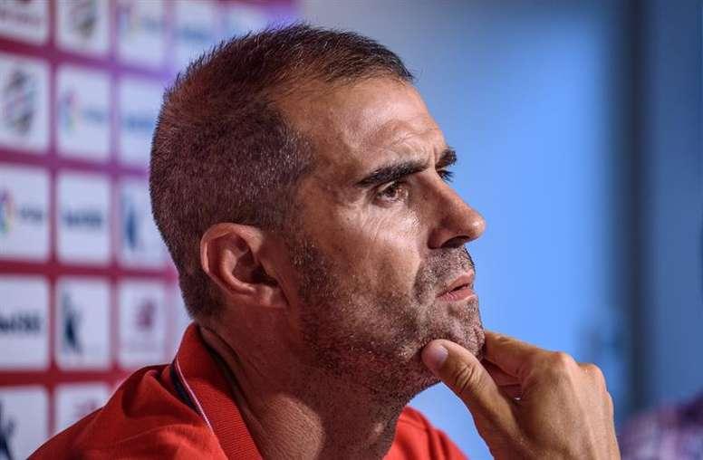 Garitano ya espera al Barça. EFE