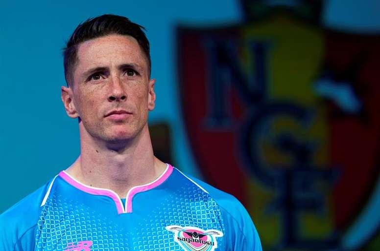 Fernando Torres lideró al Sagan Tosu. EFE/Franck Robichon/Archivo